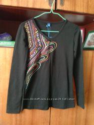 Кофточка с вышивкой с таобао