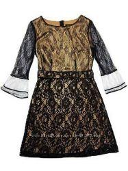 Платье Louis Vuitton из черного гипюра