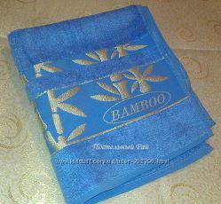 Бамбуковые полотенца лицевые