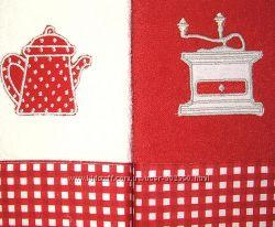 кухонные полотенца, прихватки, фартуки