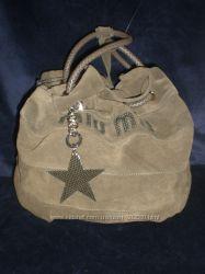Замшевая сумка MIU MIU. Супер цена