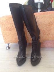 Braska сапоги кожаные