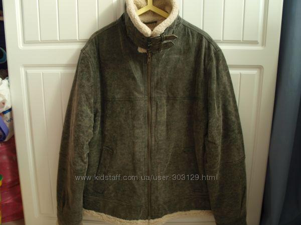 Куртка из натуральной кожи размер L