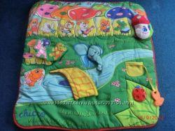 Мягкий игровой коврик Играющие животные Chicco