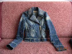 Стильная джинсовая куртка Dishe с заклепками