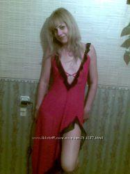 Секси ночная рубашка пеньюар