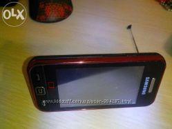 Мобильный телефон Samsung Star TV S5233T плюс красный чехол
