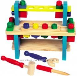 Верстак деревянный Строительный набор - Игровые наборы для мальчиков