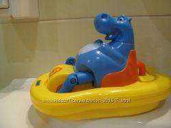 Tomy Aqua Fun Поющий гиппопотам на катамаране