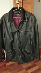 Куртка мужская, осень, натуральная кожа