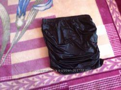 Стильная, красивая и модная юбка мини ткань под кожу