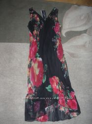 Очень красивое эффектное яркое летнее платье-сарафан