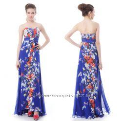 Распродажа Вечернее платье с брошью необыкновенно красивого фасона р. 48-50
