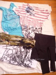 Мои беременные вещички платья тунички часть2