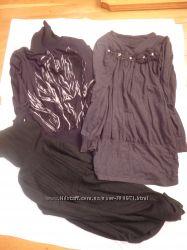 Мои беременные вещички платья тунички часть1