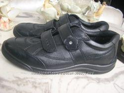 ECCO 37- 38 размер кроссовки полуботинки на узкую ногу