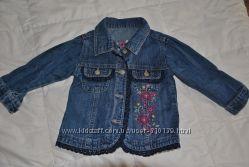 Джинсовый комплект штаны и куртка Mothercare 9-12м