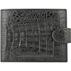 Мужские портмоне из натуральной кожи крокодила