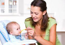 Детская посудка и питание - все для первого прикорма. Большой выбор.