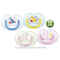 AVENT. Стильные ортодонтические пустышки для Ваших малышей