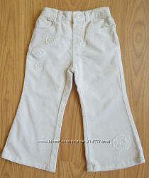 Вельветовые штаны EARLY DAYS на девочку 1, 5-2 года, рост 86-92