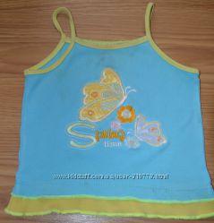 Летняя одежда девочке, 2-3 года, рост 92-98