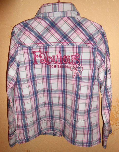 Стильная рубашка Tom Tailor, рост 116-122, возраст 5-6-7 лет