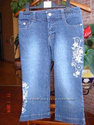 Детские джинсы-капри бу