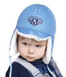 шапки Baby Line утепленные овчиной для мальчиков и девочек