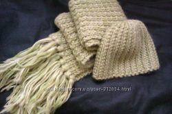 Тёплый набор , шапка шарф
