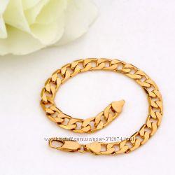 В наличии Gold filled браслет для мужчин наложенный платеж
