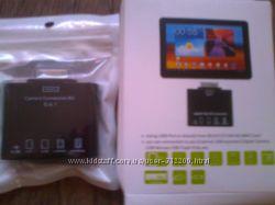 Кардридер 5 в 1 Cardreader USB OTG для Samsung Galaxy Tab