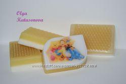 Акция   Детское мыло ручной работы - медовое мыло