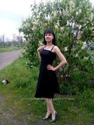 Платье летнее без бретелей размер S-M