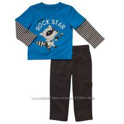 Carters флисовые, хлопковые пижамы, слипы