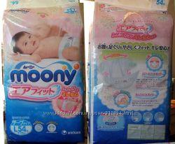 Японские подгузники Moony Муни. Трусики Nepia Baby Nappy.