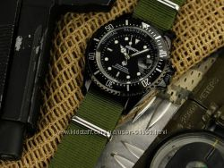 Часы INFANTRY Sport Army Black Green Neylon в наличии