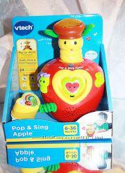 Развивающее музыкальное яблочко с сюрпризом от VTech