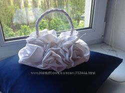 Сумочка свадебная Розочки