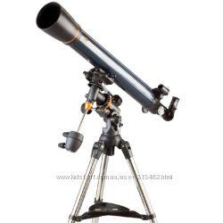 Телескоп Celestron AstroMaster 90 EQ  бинокль в подарок