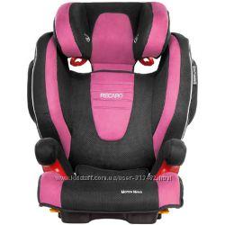 Автокресло RECARO Monza Nova SeatFix Pink, доставка бесплатно 1 день