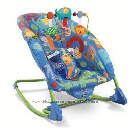 Массажное кресло-качалка увеличенного размера до 18 кг
