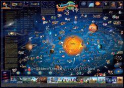 Куплю Детская карта изобретений и солнечной системы