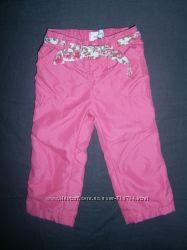 штанишки для девочки на 9-12 месяцев