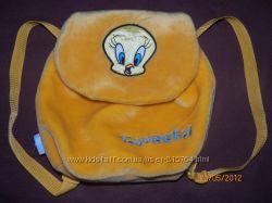 меховой рюкзачок
