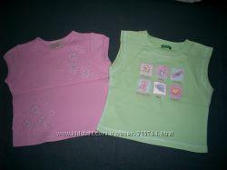фирменные футболочки и маечки на 2-3 года