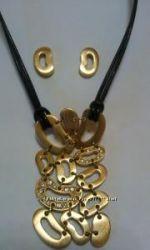 Куплю ожерелье и сережки в форме кофейных зерен от Amway