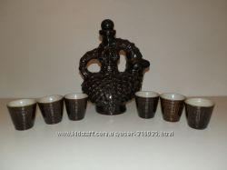 СССР Керамика водочный  набор Баранчик