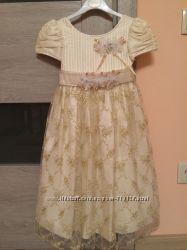 Нарядное платье BOTANIQUE, на 5-7 лет
