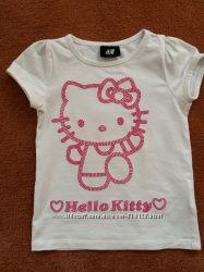 Футболка Hello Kitty H&M на 3-4 года